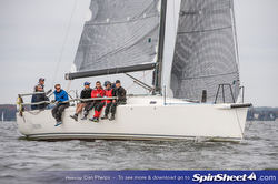 J/122 Orion sailing Fall Series Annapolis