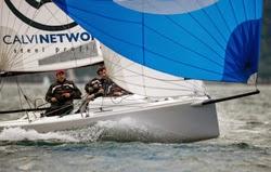 J/70 sailing Lago di Garda, Italy