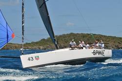 J/111 sailing Caribbean