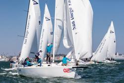 J/105s sailing Mastes Regatta