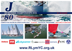 J80 UK Nationals sponsors