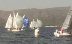 J/24s sailing South Americans- Villa Carlos Paz, Argentina