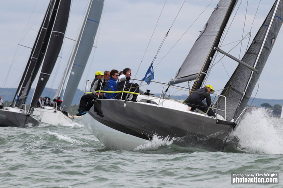 J/99 sailing J/Cup UK