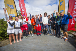 J/70 Norway sailing league winners podium