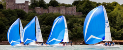 J/70s sailing British Sailing League
