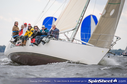 J/35 sailing Annapolis Fall series