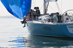 Three-peat Overall for J/133 PINTIA In RORC Cervantes Race!