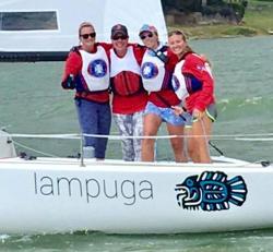 J/70 Team'Mer- American YC winners