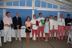 J/111 Odyssey crew- winners Youth Challenge