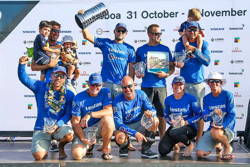 Team Vestas- winners Volvo Ocean Race- Leg 1