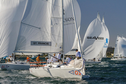 J/105 sailing Lipton Cup