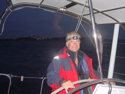 Brad Willauer sailing J/46 Breezing Up