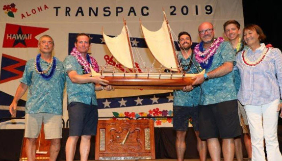 J/125 Hamachi winner Transpac Race