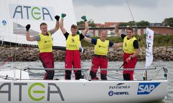 Danish J/70 sailing league winners- Furoesen SC