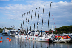 J/70 fleet- ready to sail off Moscow