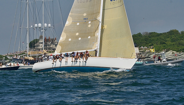 J/44s sailing to Bermuda