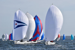 J/70s sailing Davis Island Winter Series