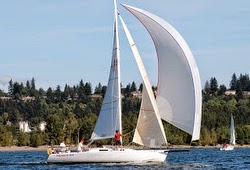J/105 sailing Oregon Offshore race