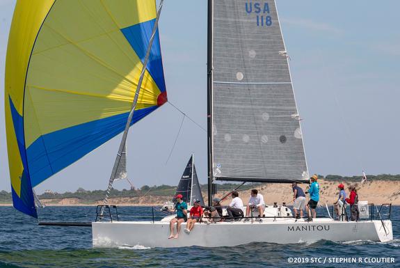 J/111 sailing Block Island