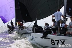J/97E sailing fast on Solent
