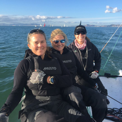 J/70 Christine Robin- women's sailing crew!