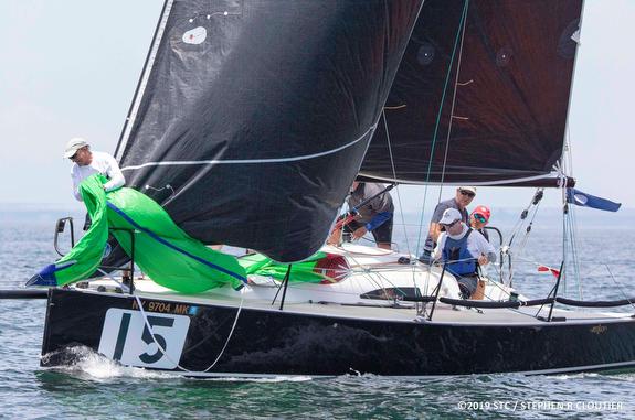 J/88 WINGS at Block Island Race Week