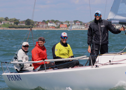 J/70 PHAN team sailing off England