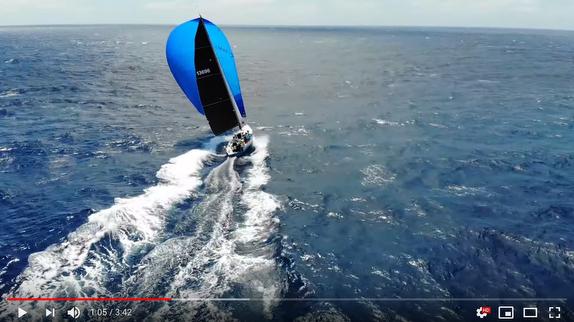 J/125 racing to Transpac video