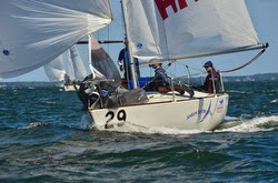 J/24 Sailors for the Sea- sailing into 2nd at Nationals