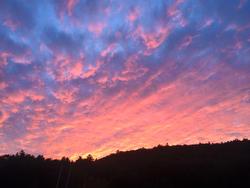 Sunset on Lake George, New York