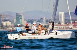 J/70 sailing off San Diego, California