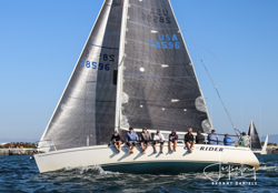 J/120 CC Rider sailing Hot Rum series