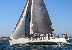 J/120 CC Rider sailing Hot Rum series