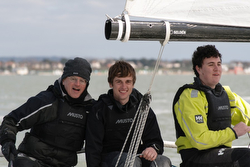 J70 sailors in England