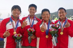 J/80 Match Race Gold Medalists- J/80 Match Race Asian Games