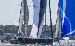 J/121 sailing New York YC Race Week