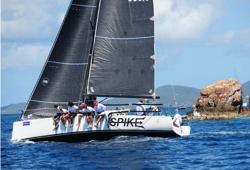 J/111 SPIKE sailing BVI Tortola