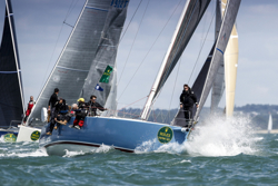 J/133 sailing RORC Cherbourg Race