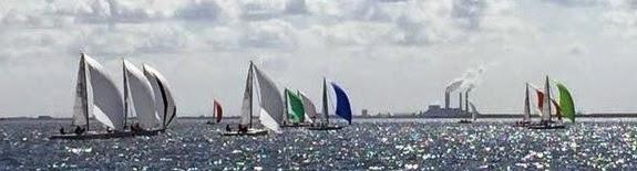 J/70s sailing Tampa Bay- Quantum Winter Series