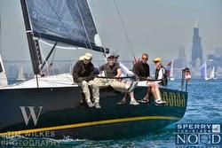 J/111 sailing Chicago NOOD regatta