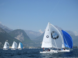 J/80s sailing Lake Garda, Italy - Russia Yachting Cup