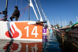 J/70s sailing Bank Santander Winter Series- Chile