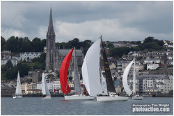 J/109s sailing Cork Week