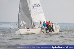 J/24 sailing East Coast Championship