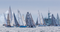 Swiftsure Race starting line