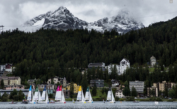J/70s sailing league- St Moritz, Switzerland