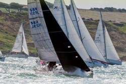J/105 Jelly Baby sailing Round Island Race