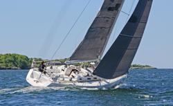 J/133 JHawk sailing Bermuda Race