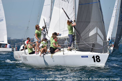 Women's J/24 Sea Bags Sailing Team