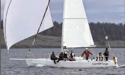 J/105 sailing- Seattle series